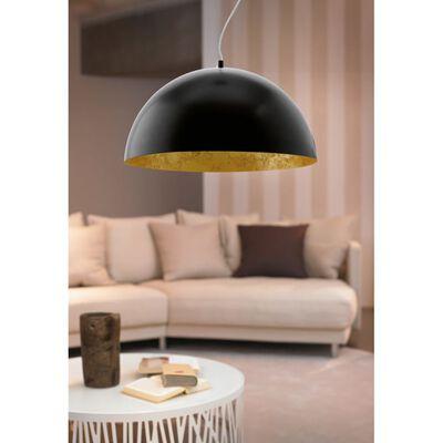 EGLO LED Taklampa Gaetano Svart/Guld 94228, Svart