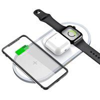 Trådlös snabbladdare för smartphone och Apple Watch
