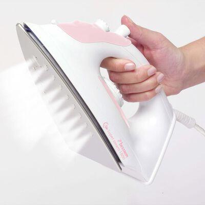 Bestron Ångstrykjärn AEA6088P 1800 W vit och rosa