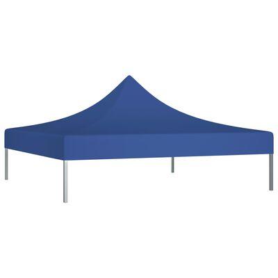 vidaXL Tak till partytält 2x2 m blå 270 g/m²