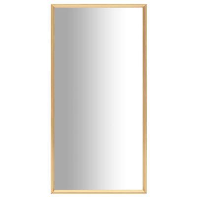 vidaXL Spegel guld 120x60 cm