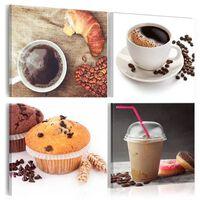Tavla - A Sweet Breakfast - 90x90 Cm