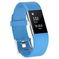 Sport Armband till Fitbit Charge 2 - Ljusblå
