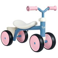 Smoby Åkcykel Rookie blå rosa