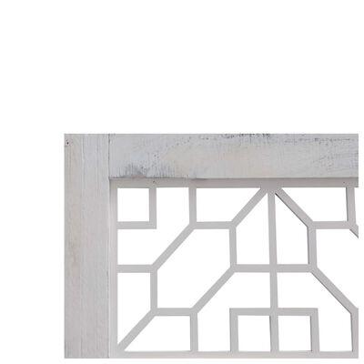 vidaXL Rumsavdelare 3 paneler grå 105x165 cm tyg