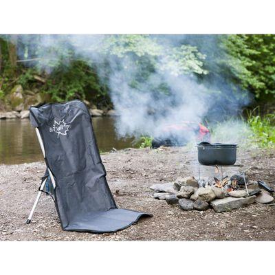 Bo-Trail Campingstol aluminium antracit 1204600