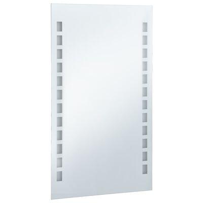 vidaXL Badrumsspegel LED 60x100 cm