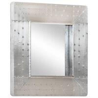 vidaXL Spegel 50x50 cm metall