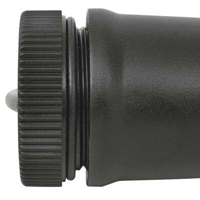 vidaXL Pinpointer metalldetektor svart
