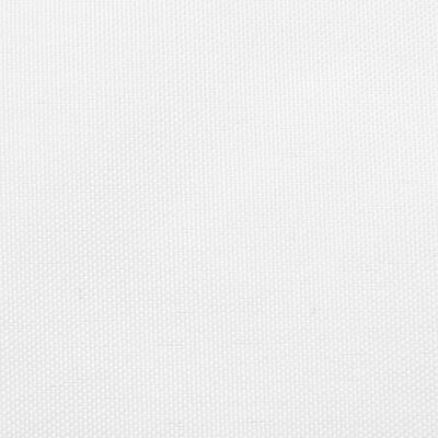 vidaXL Solsegel oxfordtyg rektangulärt 6x8 m vit