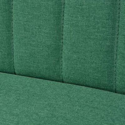 vidaXL Soffa 117x55,5x77 cm tyg grön