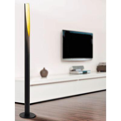 EGLO Golvlampa LED Barbotto 5W 137 cm svart och guld