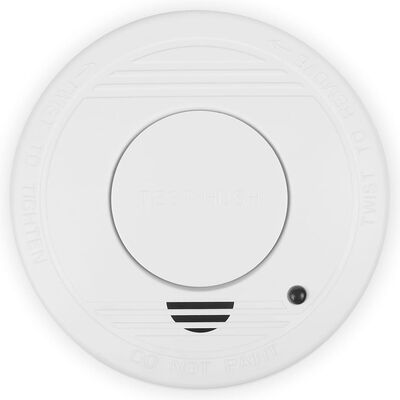 Smartwares Rökdetektor set 4-pack 10x10x3,5 cm vit