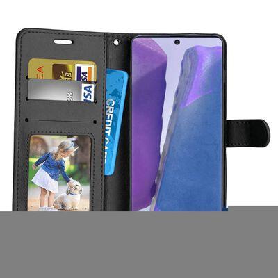Mobilplånbok 3-kort Samsung Galaxy Note 20 Ultra-ljusblå