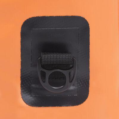 vidaXL Vattentät packpåse orange 30 L PVC