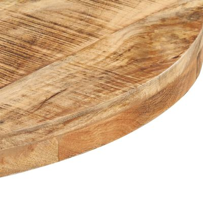 vidaXL Cafébord runt Ø70x75 cm grovt mangoträ