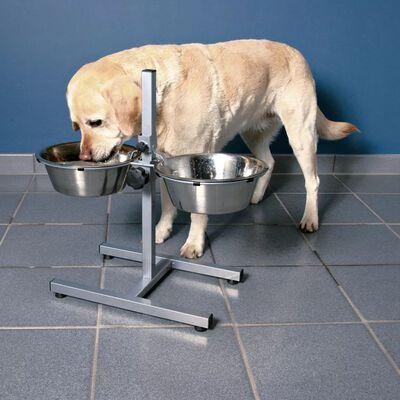 TRIXIE Justerbart ställ med hundskålar 9 L 28 cm 24923