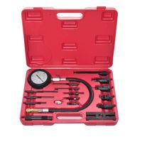 vidaXL Kompressionstest kit för dieselmotor 17 delar