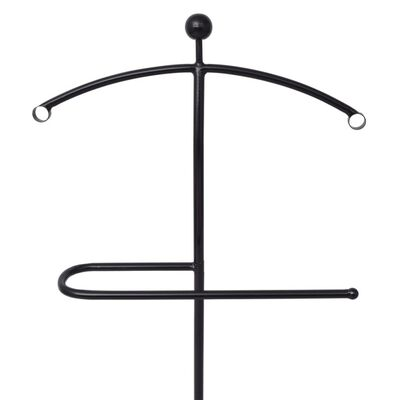 vidaXL Herrbetjänt 49x41x108 cm svart