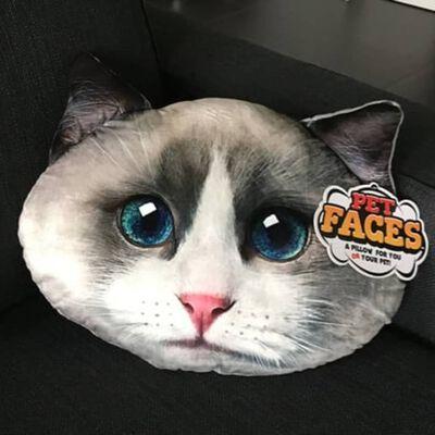 Pet Faces Djurkudde Ragdoll Katt