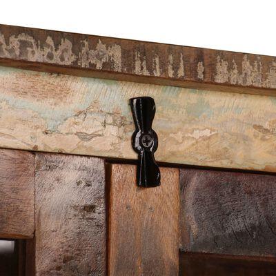 vidaXL Högskåp återvunnet trä 95x39x185 cm