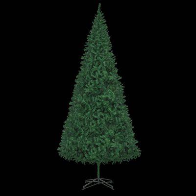 vidaXL Plastgran 500 cm grön