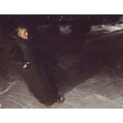 Unknow work 73,Anders Zorn,50x40cm