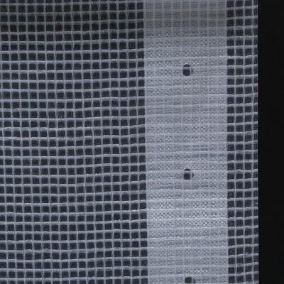 vidaXL Leno presenning 260 g/m² 3x15 m vit