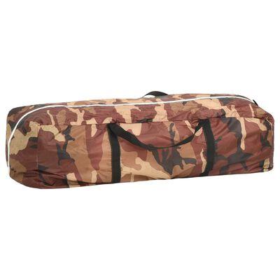 vidaXL Pooltält tyg 500x433x250 cm kamouflage