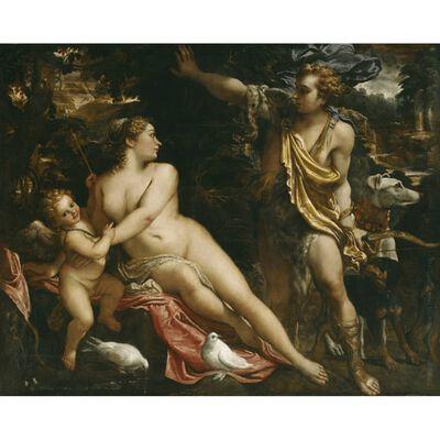Venus and Adonis,Annibale Carracci,50x40cm