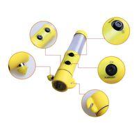 4 i 1 Flerfunktionell Fordonsäkerhet Nödhammare LED-ficklampa