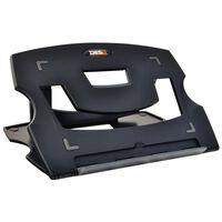 DESQ Laptopställ 28,5x21x1 cm svart