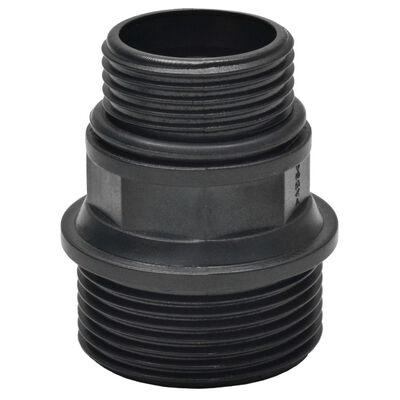 vidaXL Sugslang med koppling 4 m 22 mm vit, Vit