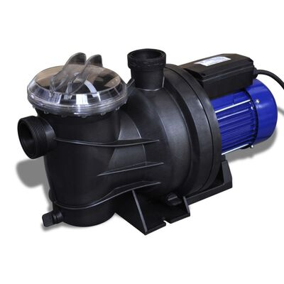 vidaXL Poolpump elektrisk 800W blå