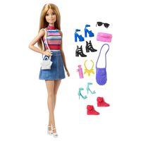 Barbie Docka och accessoarer