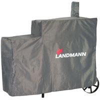 Landmann Grillskydd Premium L 130x60x120 cm grå 15708