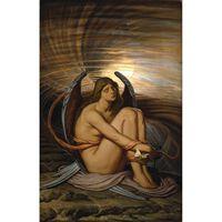 Soul in Bondage,Elihu Vedder,60x40cm