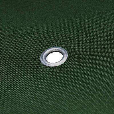 vidaXL Paviljongtak 310 g/m² 4x3 m grön