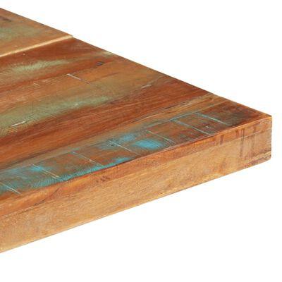 vidaXL Matbord 140x70x76 cm massivt återvunnet trä
