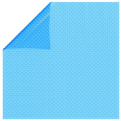 vidaXL Rektangulärt poolskydd 732 x 366 cm PE Blå