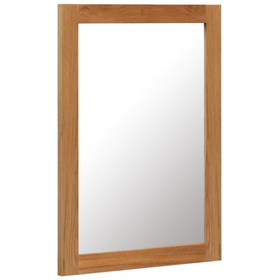 vidaXL Spegel 50x70 cm massiv ek