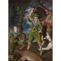 Henry,Prince of Wales,Robert Peake the Elder,50x40cm