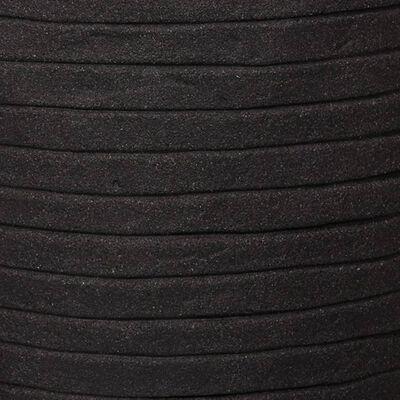 Capi Vas Nature Row elegant låg 36x47 cm svart KBLRO782