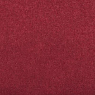 vidaXL Reclinerfåtölj vinröd tyg