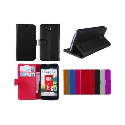 Mobilplånbok 2-kort LG L90 (D405) Svart