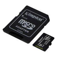 Kingston Micro SD 128GB Minneskort Class 10