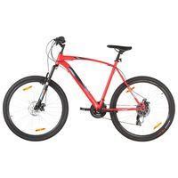 vidaXL Mountainbike 21 växlar 29-tums däck 53 cm ram röd
