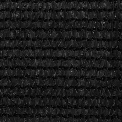 vidaXL Tältmatta 200x400 cm svart