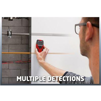 Einhell Digital rör-, kabel- och regeldetektor TC-MD 50 Red 2270090