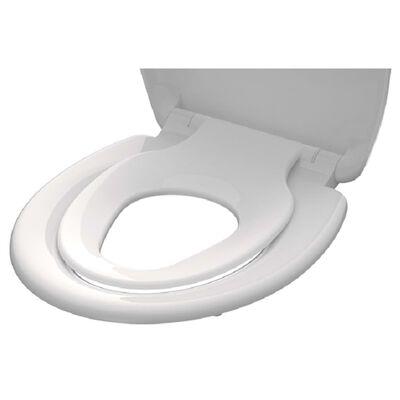 SCHÜTTE Toalettsits FAMILY WHITE duroplast vit